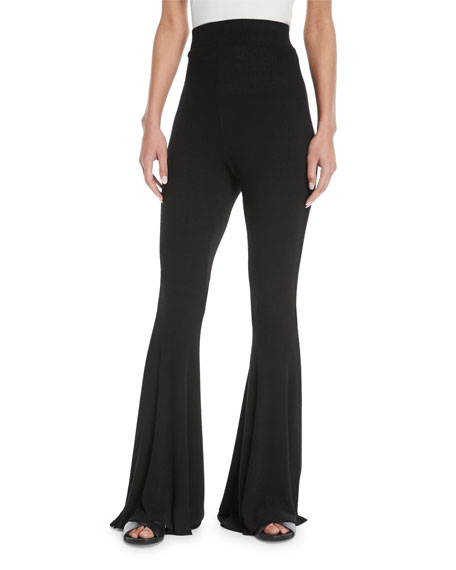 Marguerite High-Waist Flared Pants