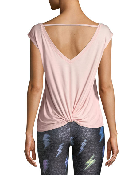 Twist-Back Tank Top