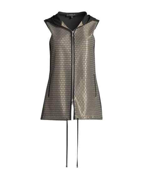 Francisco Honeycomb-Knit Novelty Vest