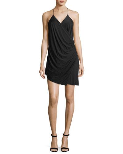 Sidewinder Cowl Jersey Mini Dress