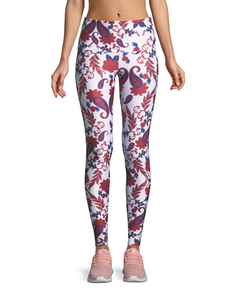 Onzie Old Havana High-Rise Performance Leggings