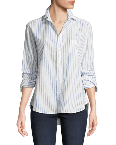 Frank & Eileen Eileen Long-Sleeve Button-Down Classic Stripe