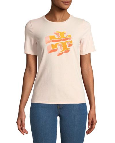 April Logo Graphic T-Shirt