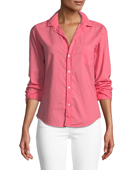 Frank & Eileen Barry Long-Sleeve Button-Down Top