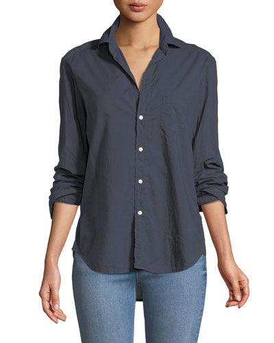 Eileen Long-Sleeve Button-Down Shirt