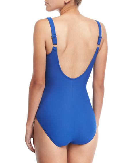 Embrace Surplice One-Piece Swimsuit