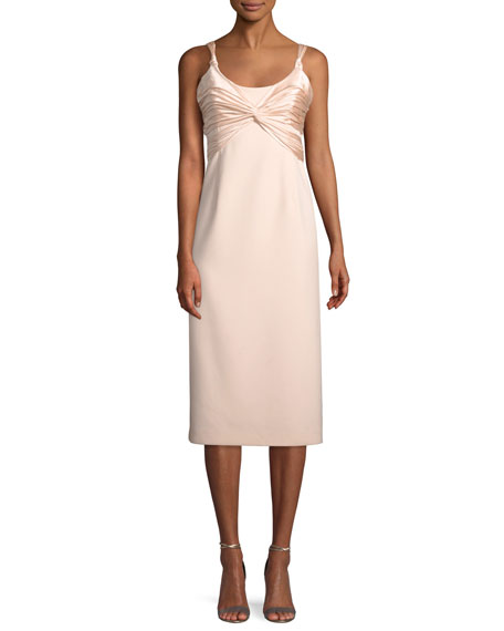 cinq a sept Amina Scoop-Neck Sleeveless A-Line Dress