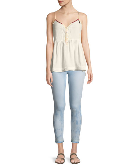 Empire Ankle Skinny Jeans