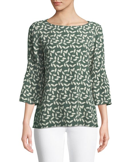 Lafayette 148 New York Lorelie Mini Inspired-Laurel Blouse