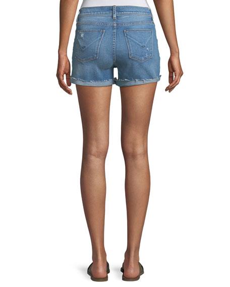 Valeri Cuffed Denim Shorts