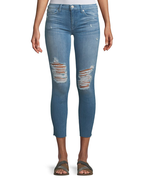 Hudson Tally Mid-Rise Skinny-Leg Crop Jeans