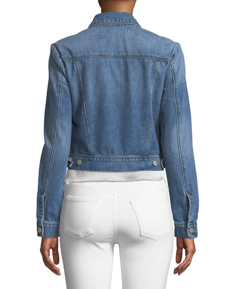 Harlow Cropped Denim Jacket