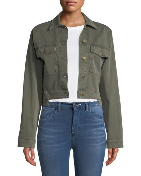 Georgia Logan Step-Hem Jacket