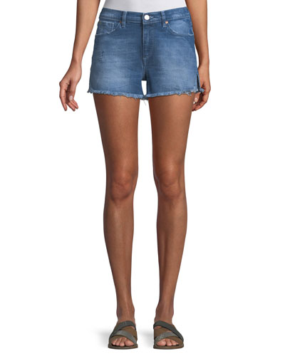 Darby Venice Cutoff Shorts w/ Side Slit