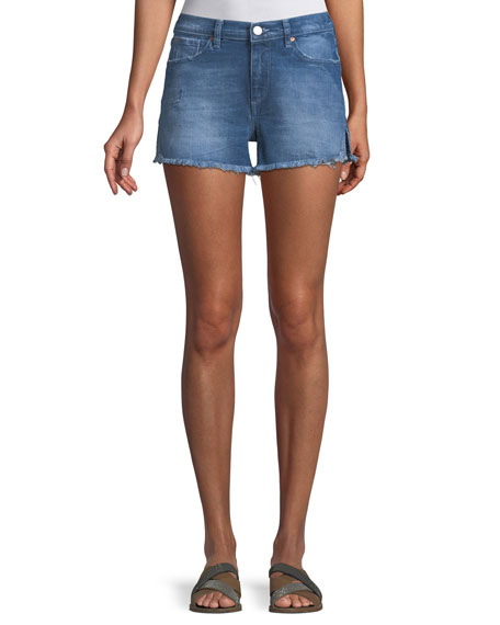Acynetic Darby Venice Cutoff Shorts w/ Side Slit
