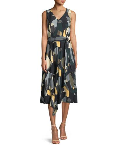 Telson Ornamental Mosaic Dress