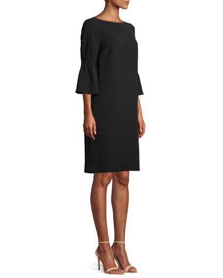 Lorelie Finesse Crepe Shift Dress
