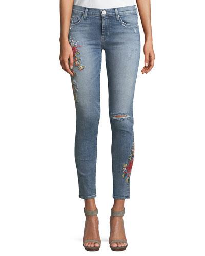 Nico Mid-Rise Super Skinny-Leg Ankle Jeans