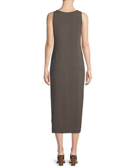 Sleeveless Jersey Maxi Dress, Petite