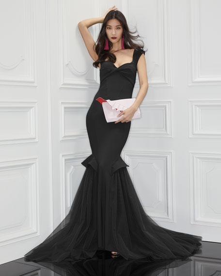 Grace Sweetheart Illusion Tulle Gown
