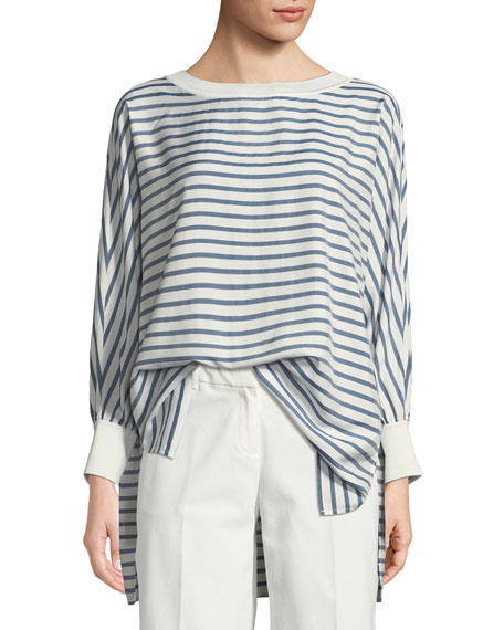 Lafayette 148 New York Joplin Showcase Striped Micro