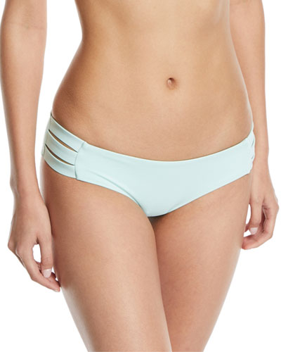 Emelia Triple-Strap Swim Bikini Bottom
