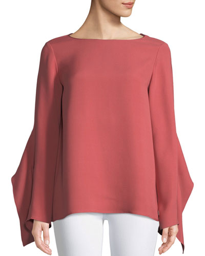 Catharina Double-Georgette Blouse