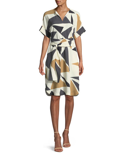 Jubilee Bold Triangles Knit Dress