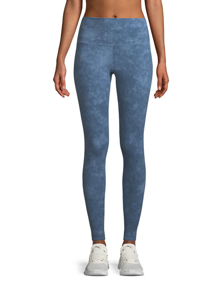 Alo Yoga Airbrush Printed High-Waisted Sport Leggings