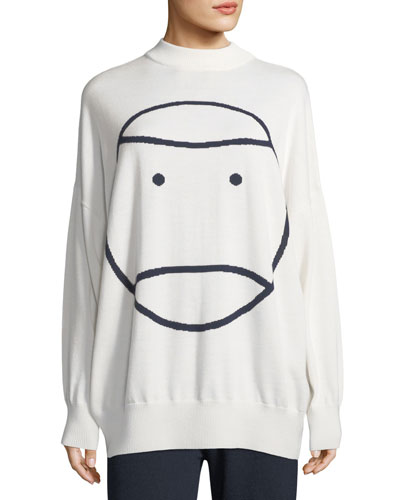 Little Grumps Performance Merino Oversized Sweater