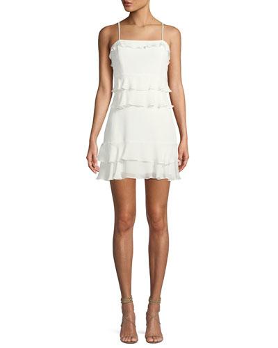 Kristie Sleeveless Tiered Mini Dress