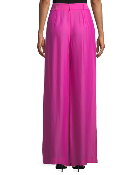 Natalie Wide-Leg Pant with Self-Tie Belt