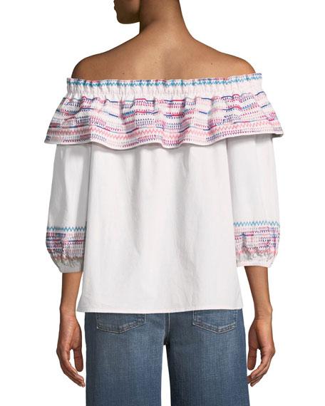 Jenay Off-the-Shoulder Blouse