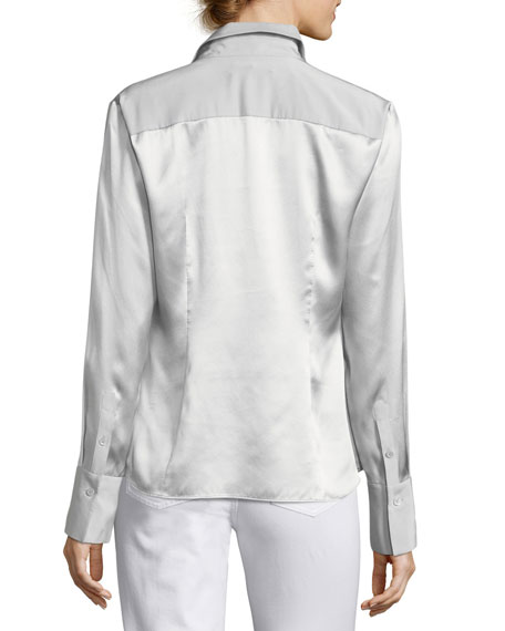 Linley Luxe Charmeuse Blouse
