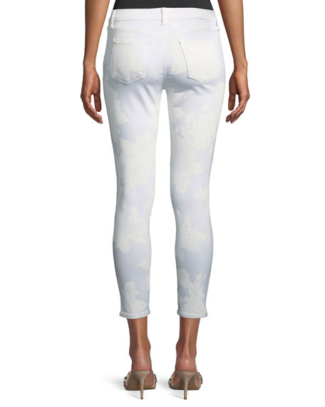 835 Mid-Rise Capri Glowing Jeans
