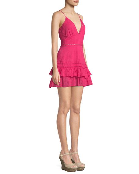 Casey Jean Sleeveless Cotton Mini Dress
