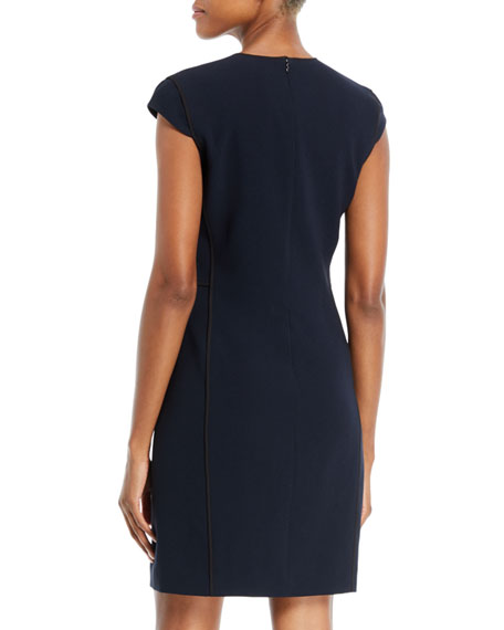 Laurie Cap-Sleeve Dress