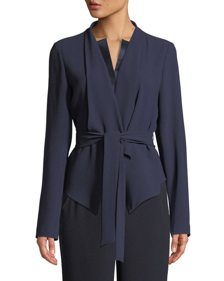 Elie Tahari Jenn Tie-Waist Jacket and Matching Items