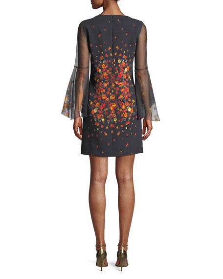 Esmarella Floral-Print Sheath Dress
