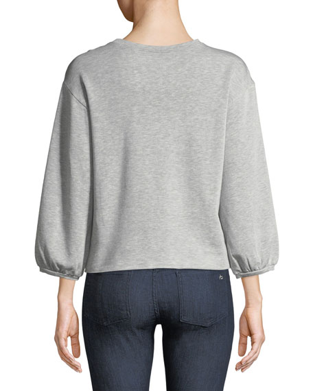 Ember Crewneck Long-Sleeve Top