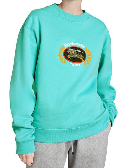 Copes Crewneck Logo Crest Sweatshirt