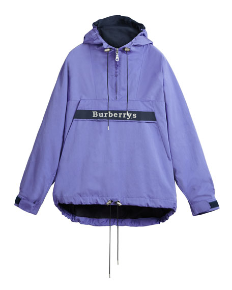 Archive Logo Hooded Anorak