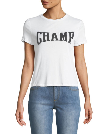 Cicely Classic CHAMP Graphic Print Tee