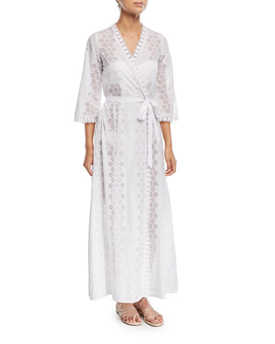 Lucinda Honeycomb Cotton Coverup