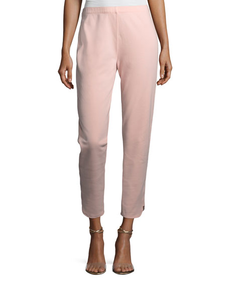 Ankle Pants w/ Notch Detail, Petite