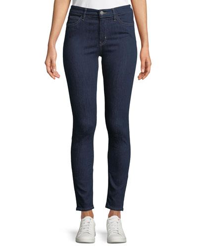 Bridge High-Rise Skinny-Leg Ankle Jeans
