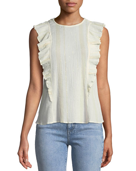 MiH Hardin Sleeveless Frill Top