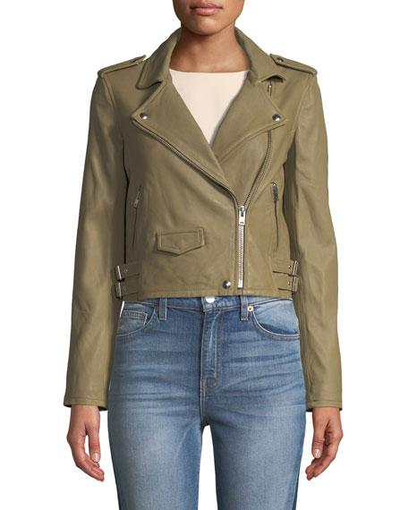 Ashville Leather Moto Jacket
