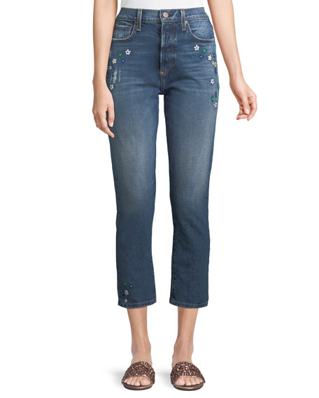 Amazing High-Rise Ankle Girlfriend Jeans