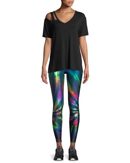 Multicolor Tall-Band Performance Leggings
